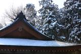 朝比奈 雪降る熊野神社