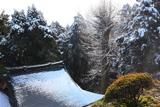 朝比奈 熊野神社の雪景色