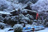 山科聖天 雪の聖天堂