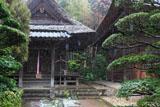 常楽寺 雪の文殊堂