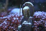 圓久寺 霜雪の地蔵菩薩