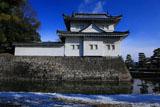 二条城 雪化粧の東南隅櫓