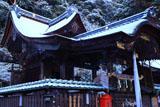 鍬山神社 淡雪の本殿