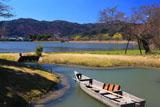 京都平安郷 菖蒲池の高瀬舟