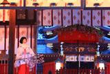 今宮神社 拝殿の花笠