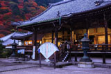 宵の善峯寺本堂