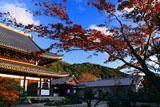 光雲寺 紅葉と仏殿