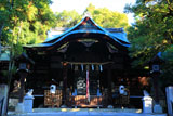 岡崎神社 拝殿