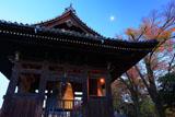 京都方広寺 国家安康の梵鐘と月