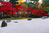相国寺 紅葉の開山堂南庭