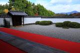 正伝寺庭園と比叡山