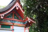 雙栗神社 サザンカと本殿