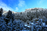 雲ケ畑 雪景色の出谷町