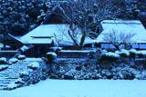 京北 雪化粧の地蔵院