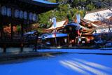 今宮神社 雪化粧の境内