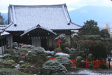 建勲神社 雪化粧の貴賓館