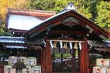 建勲神社 雪化粧した本殿