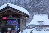 京都花脊 雪の地蔵堂