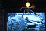 京都神光院 正月注連飾