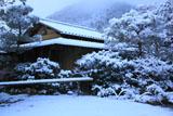 光悦寺 雪の了寂軒