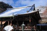 善峯寺 雪化粧の本堂