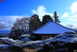 善峯寺 雪化粧の護摩堂