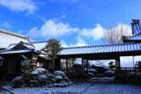 三鈷寺 雪化粧の境内