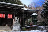 京都金蔵寺 雪化粧の本堂