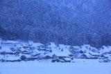美山かやぶきの里 豪雪