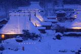 美山かやぶきの里 雪灯廊2012