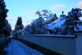 東福寺 雪化粧した山内参道