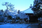 同聚院 雪景色の五大堂