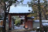 悲田院 冠雪の山門