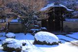 妙顕寺 龍華飛翔庭の雪景色