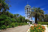 サムエルコッキング苑 マリーゴールドと展望灯台