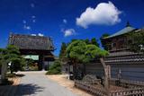 夏空の龍華寺