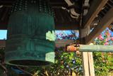 満福寺 梵鐘とサルスベリ