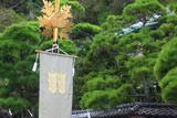 鎌倉 御霊神社の社紋旗