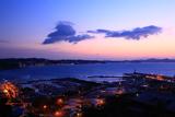 江の島 黎明の湘南港