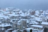 鎌倉 雪景色の坂ノ下