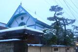 鎌倉長谷 雪化粧の加賀谷邸
