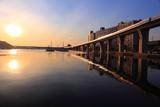 平潟湾の朝