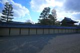 東海庵 冬雲流れる方丈南庭