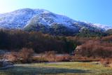 長野市 冠雪した聖山