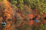 るり渓 錦秋の通天湖