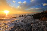 江の島 稚児ヶ淵の夕陽