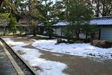 龍泉庵 斑雪の方丈庭園