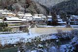 京都 雪景色の静原