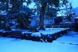 雪化粧した八坂大神