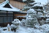 大巧寺 雪景色の庫裡